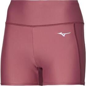 Mizuno Core Pantaloncini Donna, rosso